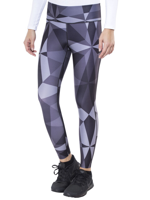Craft Pure Print Tights Women P Geo Black/Silver